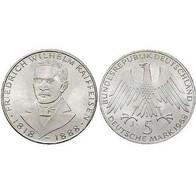 5 DM Friedrich Wilhelm Raiffeisen 1968 Bankfrisch - [ 7] 1949-… : FRG - Fed. Rep. Germany