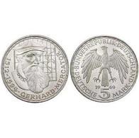 5 DM Gerhard Mercator 1969 Bankfrisch - [ 7] 1949-… : FRG - Fed. Rep. Germany