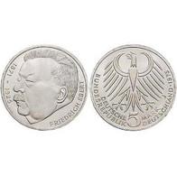 5 DM Friedrich Ebert 1975 Bankfrisch - [ 7] 1949-… : FRG - Fed. Rep. Germany