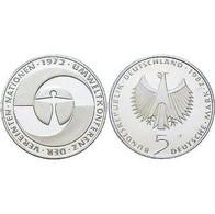 5 DM Umweltkonferenz Der Vereinten Nationen 1982 Bankfrisch - [ 7] 1949-… : FRG - Fed. Rep. Germany