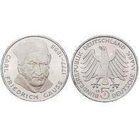 5 DM Carl Friedrich Gauß 1977 Bankfrisch - [ 7] 1949-… : FRG - Fed. Rep. Germany