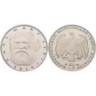 5 DM Karl Marx 1983 Bankfrisch - [ 7] 1949-… : FRG - Fed. Rep. Germany