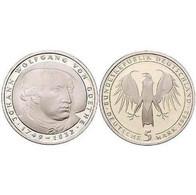 5 DM Johann Wolfgang Von Goethe 1982 Bankfrisch - 5 Mark