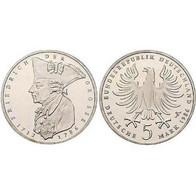 5 DM Friedrich Der Große 1986 Bankfrisch - [ 7] 1949-… : FRG - Fed. Rep. Germany