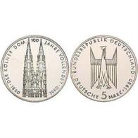 5 DM Kölner Dom 1980 Bankfrisch - 5 Mark