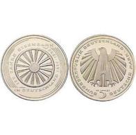 5 DM 150 Jahre Eisenbahn 1985 Bankfrisch - 5 Mark