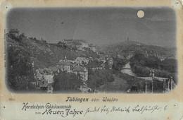 R470359 Tubingen Von Weston. Herzlichen Gluckwunsch Zum Neuen Jahre. Gebr. Metz. 1931 - Mundo