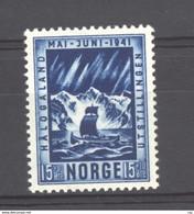 Norvège  :  Yv   207  **  Bateau  -  Boat - Unused Stamps