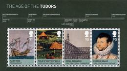 Britain 2009 Kingdom  Age Tudors Roi Henry King Ms4v Mnh - Unused Stamps