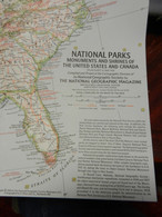 1) NATIONAL GEOGRAPHIC UNITED STATES CANADA MONUMENTS AND SHRINES1958 - World