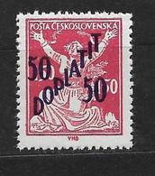Czechoslovakia 1927 MNH ** Mi 49 Sc J54  Postage Due Stamps, Portomarken. Overprint. Tschechoslowakei. C1 - Czechoslovakia
