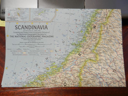 1) NATIONAL GEOGRAPHIC SCANDINAVIA 1963 - Europe