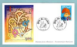 FDC France 2005 - Fête Du Timbre Titeuf - YT 3753 - Paris - 2000-2009