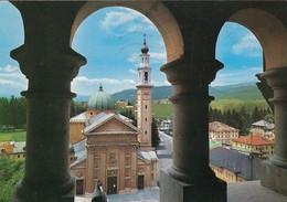 ASIAGO-VICENZA-IL DUOMO-CARTOLINA VERA FOTOGRAFIA- VIAGGIATA IL 16-7-1989 - Vicenza