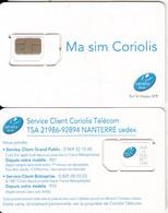 FRANCE - Coriolis Telecom GSM(micro Sim), Chip F16, Mint - Frankreich