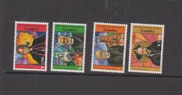 ZAMBIA - 2005 - JESUITS SET OF 4 MINT NEVER HINGED - Zambie (1965-...)