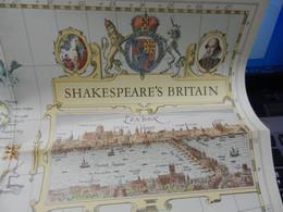 1) NATIONAL GEOGRAPHIC SHAKESPEARE BRITAIN - Europe