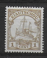 Deutsche Kolonien Kiautschou 18 - Kolonie: Kiautschou