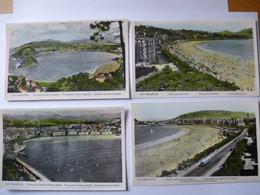 ESPAGNE - San Sebastián (Donostia) : LOT De 4 CPSM - 1955 - Cantabria (Santander)