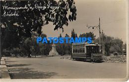 145308 ARGENTINA CORDOBA MONUMENTO A DEAN FUNES & TRANVIA TRAMWAY POSTAL POSTCARD - Argentina