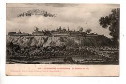 55 - CLERMONT-EN-ARGONNE . LE CHÂTEAU EN 1654 - Réf. N°10942 - - Clermont En Argonne