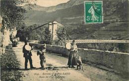 73 Montreurs Dresseurs D'ours - Environs D'Aix Les Bains - Route Du Pont De L'Abîme CPA  Ed. Reynaud N° 1643 - Altri Comuni