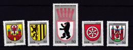 Stadtwappen (I), ** - [6] Democratic Republic