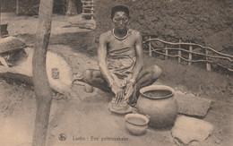 Congo Luebo Een Pottenbakster - Congo - Kinshasa (ex Zaire)