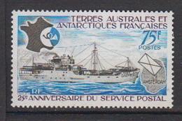 1974-TAAF-N°54** SERVICE POSTAL - Unused Stamps