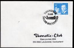 Sverige - 1981 - Thematic Club - C. Postale - Cachet Spécial - Tanums Kulturvecka - A1RR2 - Préhistoire