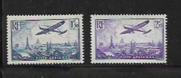 France Poste Aérienne  De 1934 N°9 Et 10 NEUFS ** Cote  70€ - 1927-1959 Nuovi