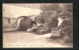 CPA La Chaussée-sur-Marne, Chute D`eau Du Moulin, Wassermühle - Zonder Classificatie