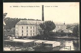 CPA Fismes, Fabrique De Chapeaux De Feutre Et Lavoir Sur La Vesle - Fismes
