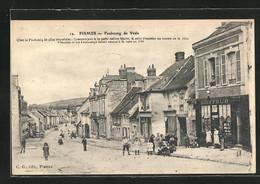 CPA Fismes, Faubourg De Vesle, Vue De La Rue - Fismes