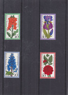 Allemagne - Berlin - Yvert 488 / 91 ** - Fleurs - Valeur 4,10 Euros - Ongebruikt