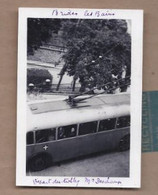 PHOTO 73 - BRIDES LES BAINS - Départ Du TROLLEY - TB PLAN TRAMWAY ANIMATION Passagère 1951 - Brides Les Bains
