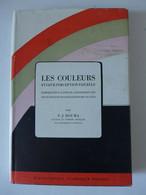 """P. J. Bouma - Les Couleurs Et Leur Perception / éd. Dunod  Coll """"Bibliothèque Technique Philips"""" - 1949 - Sciences"""