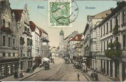 001406 - AUSTRIA - GRAZ -  MURPLATZ - 1912 - Graz