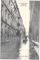 NANTES : LES INNONDATIONS 1904 : RUE KERVEGAN - Nantes