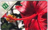 Nouvelle Caledonie Telecarte Phonecard Prepaid Prepayee IZI 3000 F Fleur Hibiscus 2010 Ut TB - Nieuw-Caledonië