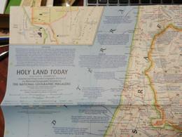 1) NATIONAL GEOGRAPHIC HOLY LAND TERRA SANTA JERUSALEM - World