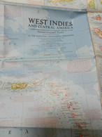1) NATIONAL GEOGRAPHIC WEST INDIES AND CENTRAL AMERICA - World