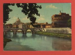 CP EUROPE  ITALIE LATIUM ROMA 82 PANTHEON - CASTEL S. ANGELO Année 1962 - Pantheon