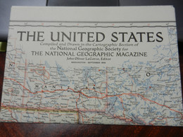 1) NATIONAL GEOGRAPHIC THE UNITED STATES 1956 - World
