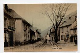 - CPA GAVET (38) - Rue Principale (CAFÉ DE LA GARE) - Cliché H. M. - - Sonstige Gemeinden