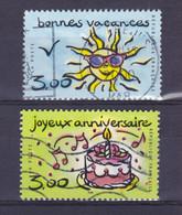 TIMBRE FRANCE N° 3241/3242 OBLITERE - Usati