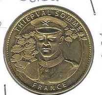Jeton Touristique AB 80 Thiépval Soldat 2011 - Arthus Bertrand
