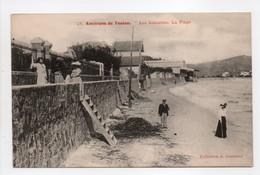 - CPA LES SABLETTES (83) - La Plage (avec Personnages) - Collection Couturier N° 28 - - Toulon