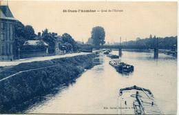 95 - Saint Ouen L' Aumône : Quai De L' Ecluse - Saint-Ouen-l'Aumône