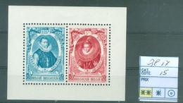 Bloc 17 Xx  Côte 15€ - Blocks & Sheetlets 1924-1960